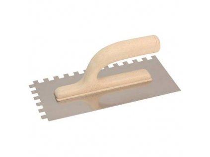 Hladítko nerez ECO LINE, zub 12 mm, 270 x 130 mm
