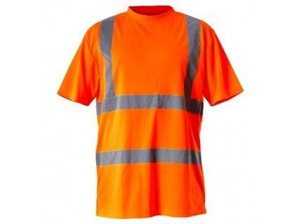 Tričko reflexní, oranžové, S, LAHTI PRO
