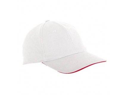 Čepice baseballová univerzální L1811300, bílá, LAHTI PRO