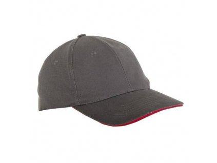 Čepice baseballová univerzální L1814300, šedá, LAHTI PRO
