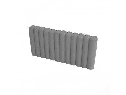 DITON - Obrubník palisádový 50x6x25 cm - přírodní (C)