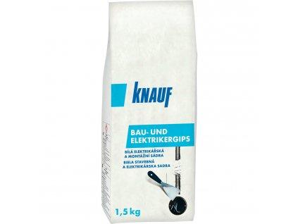 KNAUF - Bau- und Elektrikergips - Sádra rychletuhnoucí - 1,5 kg