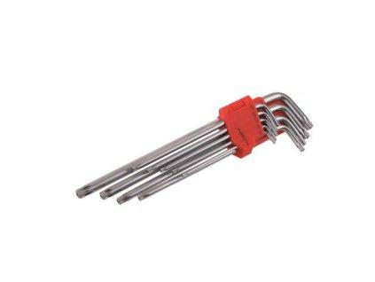 SET torx 1,5 - 10 mm, 9 ks, CrV long
