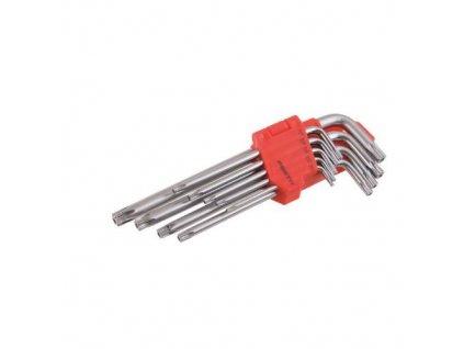 Klíče torx SET T10 - T50 9 ks, CrV PROFI