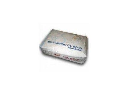 Vápno bílé CL90 - jemně mleté nehašené - 20kg