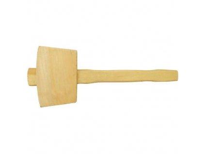 Palice dřevěná - buk, 270 g, 50 x 55 mm, VAŠEK
