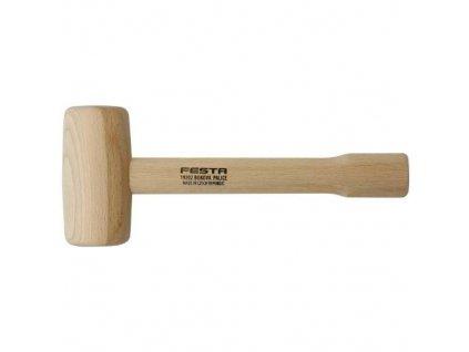 Palice dřevěná - buk, 350 g, 60 x 120 mm, FESTA