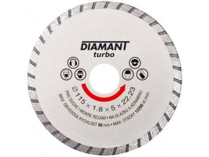 Kotouč diamantový turbo Ø 110 x 22.2 mm, DIAMANT
