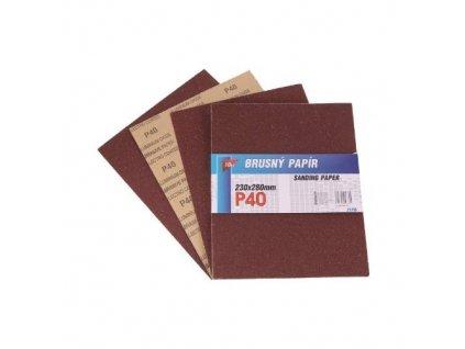 Papír brusný 230 x 280 mm P240