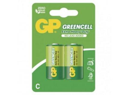 Baterie GP 14G R14 C, blistr