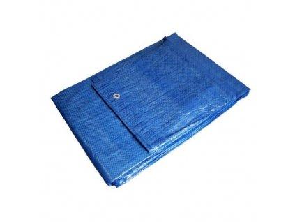 Plachta zakrývací EKONOMIK, 2 x 2 m, modrá