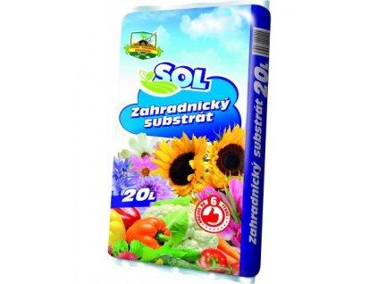 Zahradnický substrát 20l