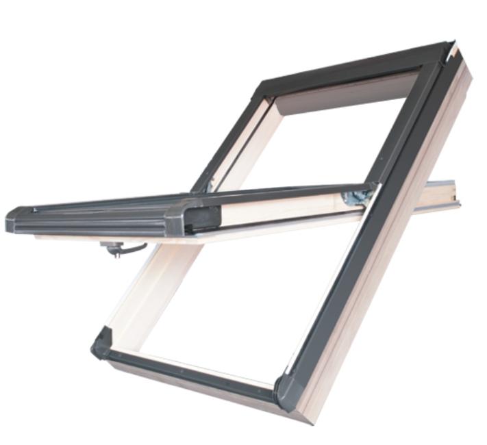 Střešní okno DACHSTAR - OKPOL ENEVI VSO E3 114x118 cm