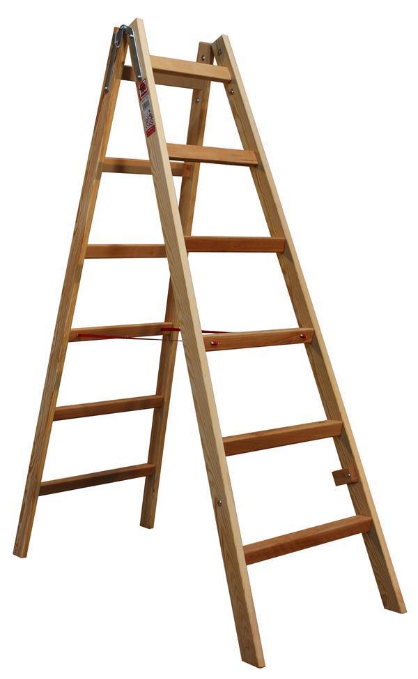 Štafle dřevěné JUMBO 2X6