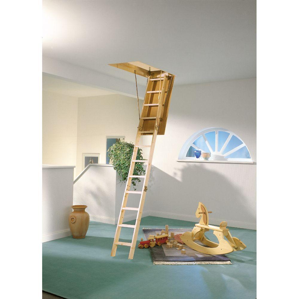 Půdní schody DOLLE EUROISO 120x60 cm