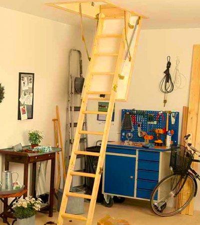 Půdní schody DOLLE KOMPAKT 120x60 cm