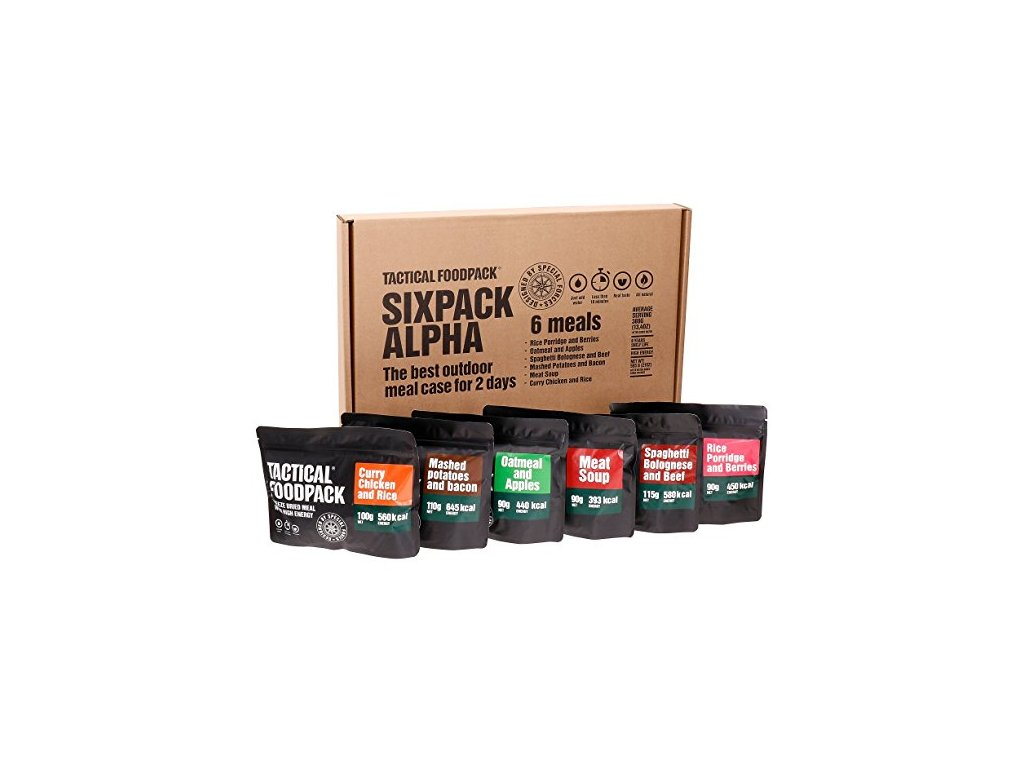 Tactical Foodpack, Tactical Six Pack Alpha 1