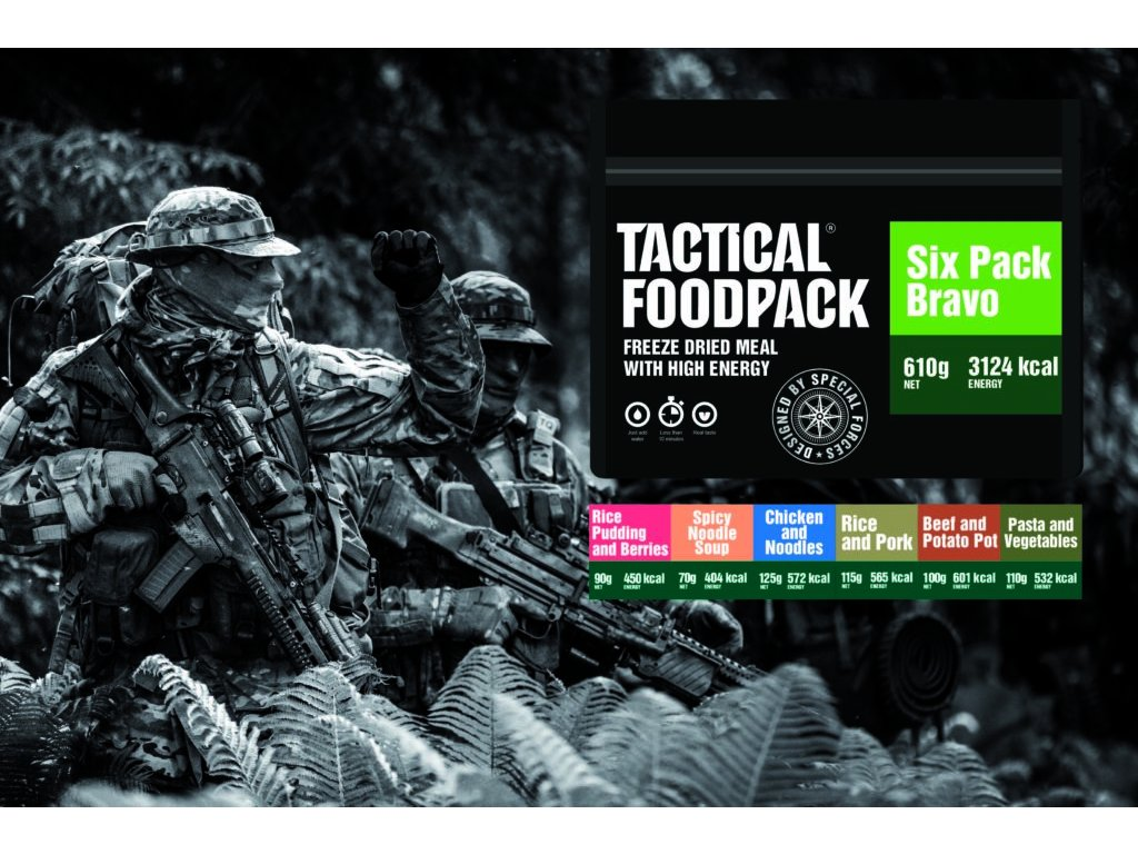 TACTICAL FOODPACK, TACTICAL SIX PACK BRAVO 1