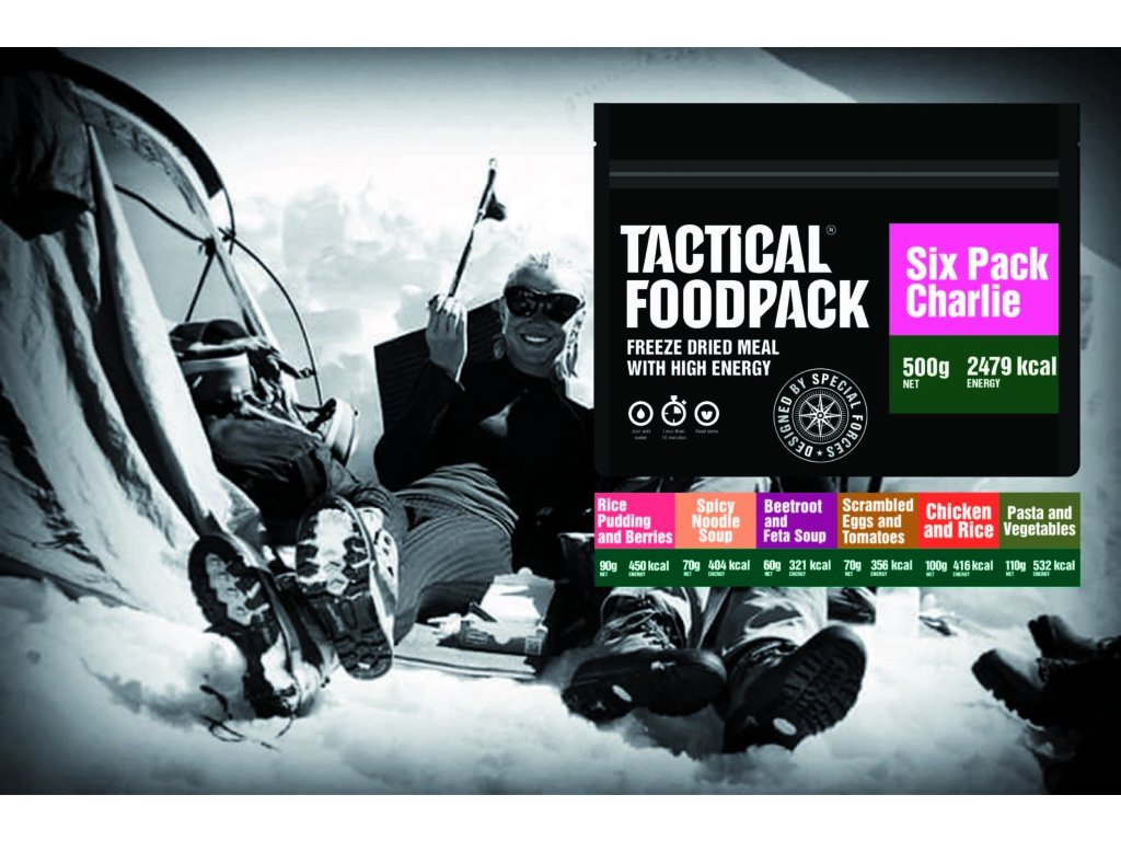TACTICAL FOODPACK, TACTICAL SIX PACK CHARLIE 1