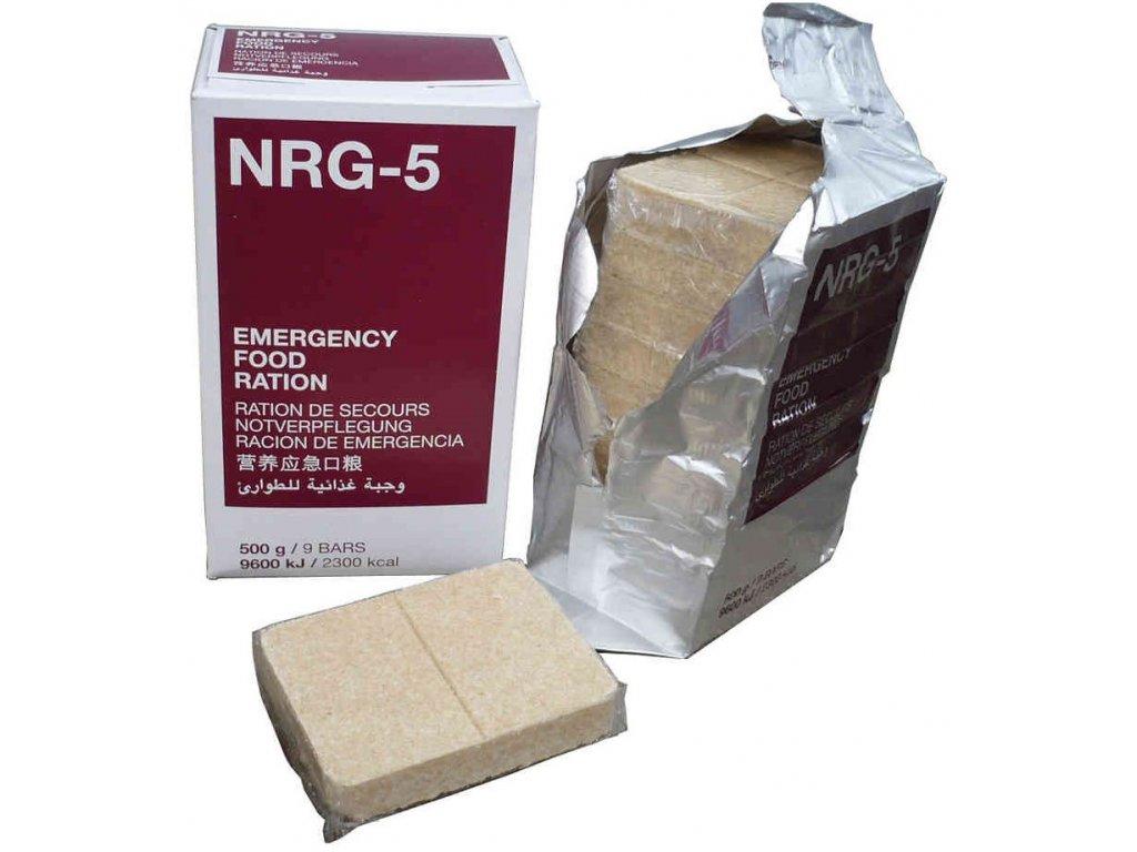 Nouzová potravinová dávka NRG 5