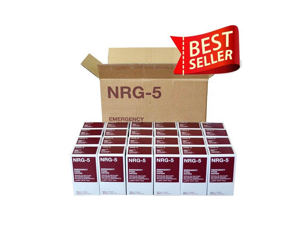Nouzová potravinová dávka NRG 5 karton