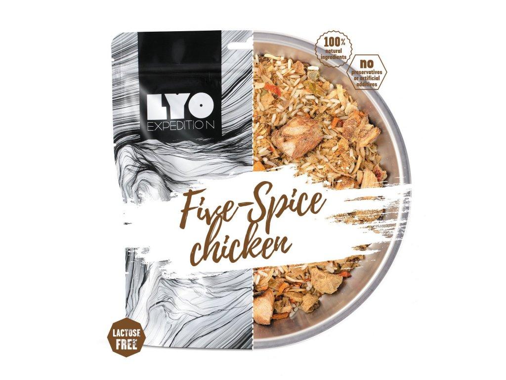Lyo food kuře 5 chutí s rýží 1
