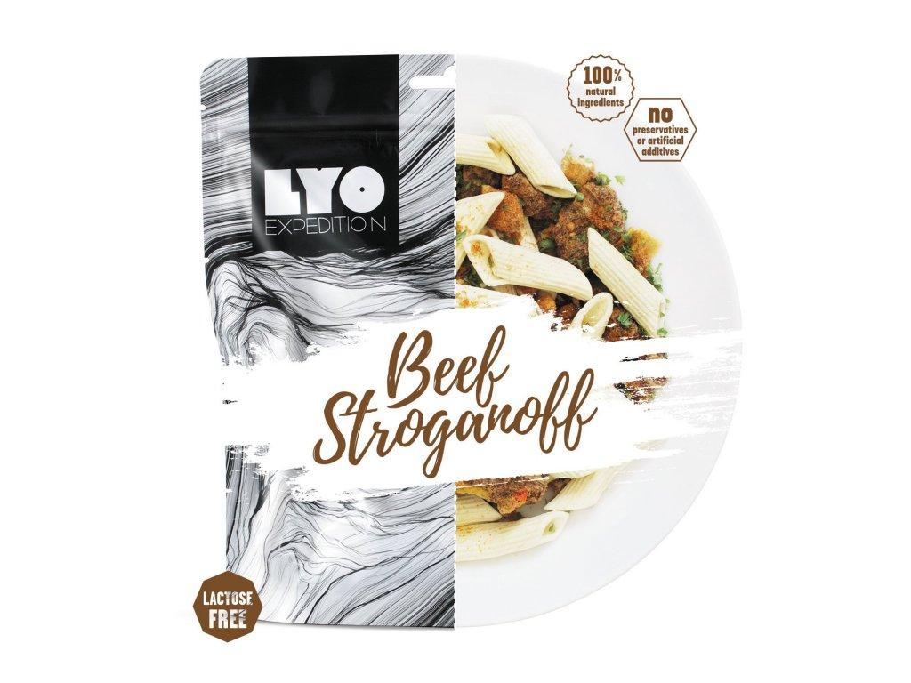 Lyo Food hovězí stroganoff 1