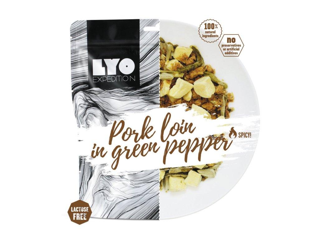 Lyo food Vepřové se zeleným pepřem a bramborem 1