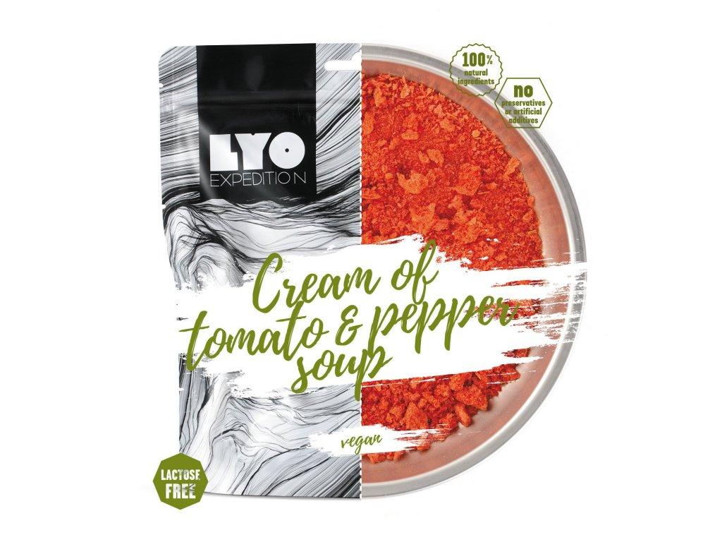 Lyo Food Krémová rajská polévka s paprikou 1