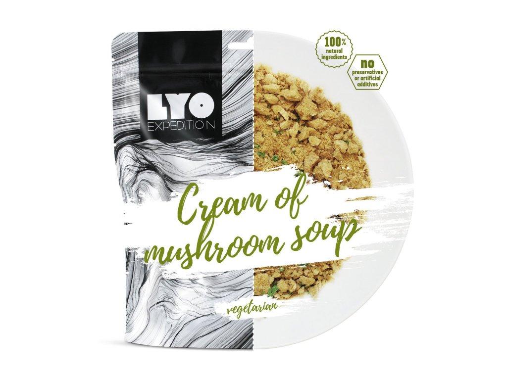 Lyo Food Krémová houbová polévka 1