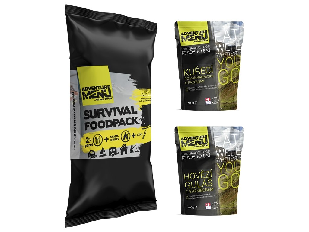 SURVIVAL FOOD PACK – MENU I