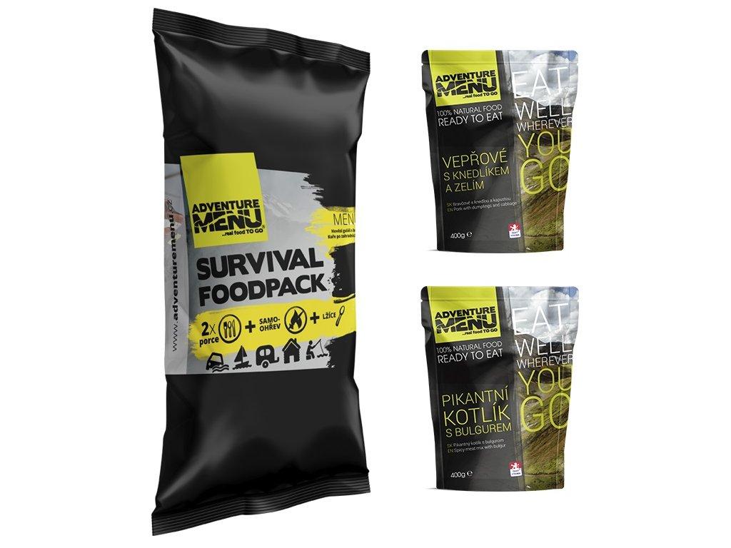 SURVIVAL FOOD PACK – MENU II