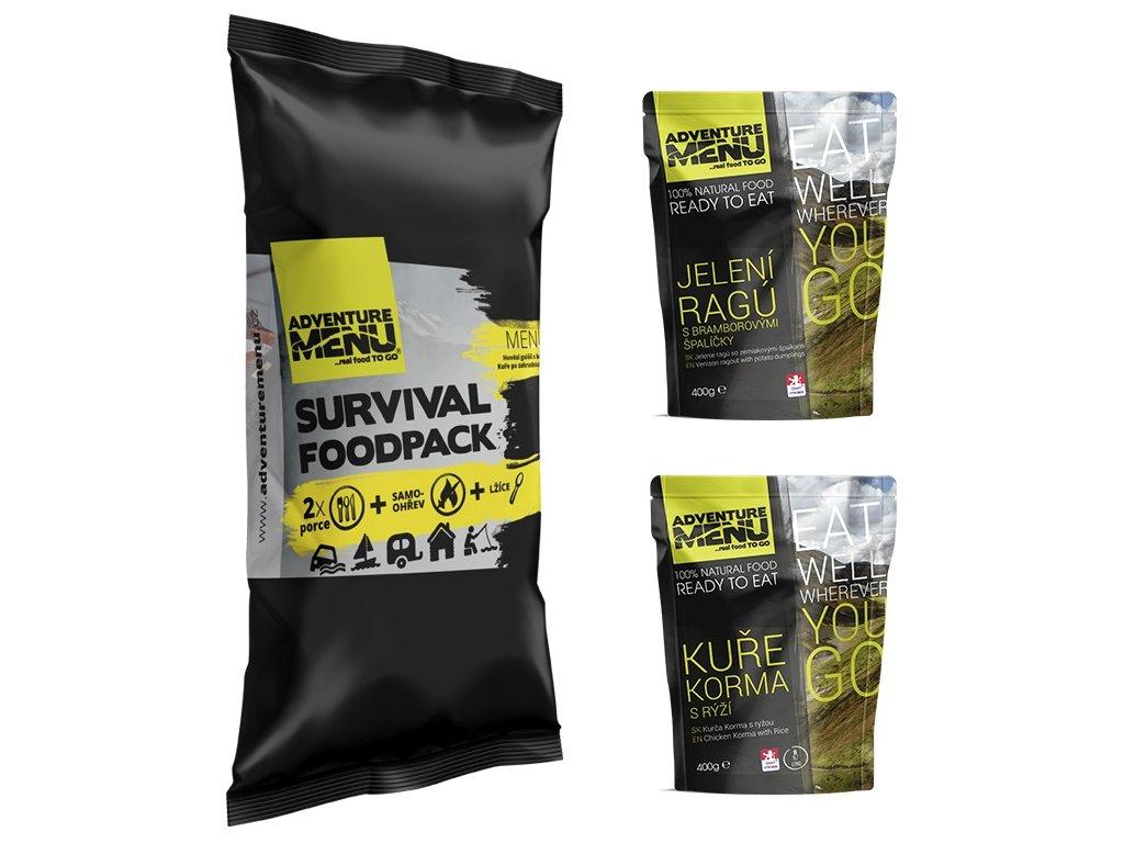 SURVIVAL FOOD PACK – MENU IV