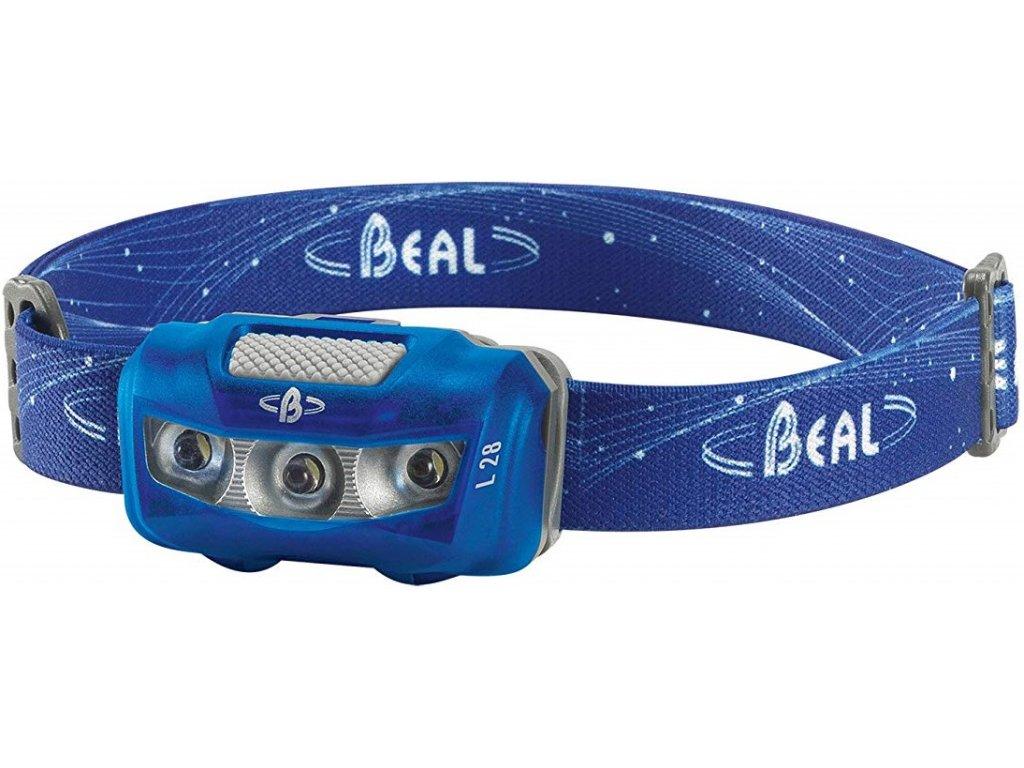 čelovka Beal L28 modrá