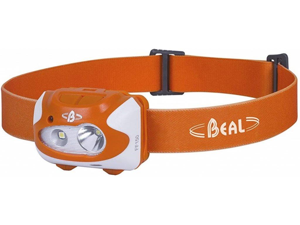 čelovka Beal FF150 oranžová