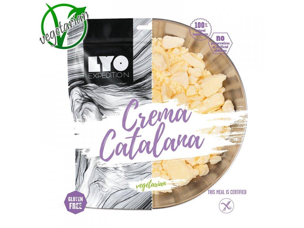 Lyo food crema catalana