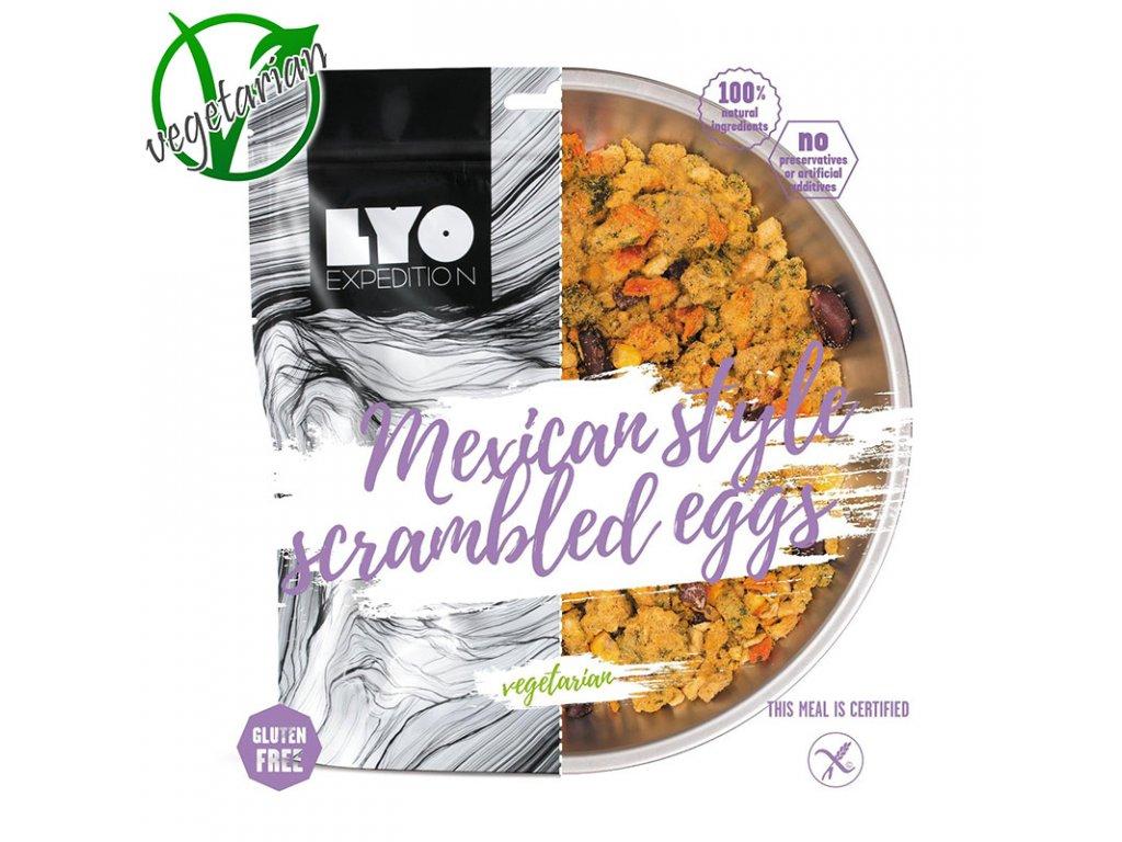 Lyo food míchaná vejce na mexický způsob 1