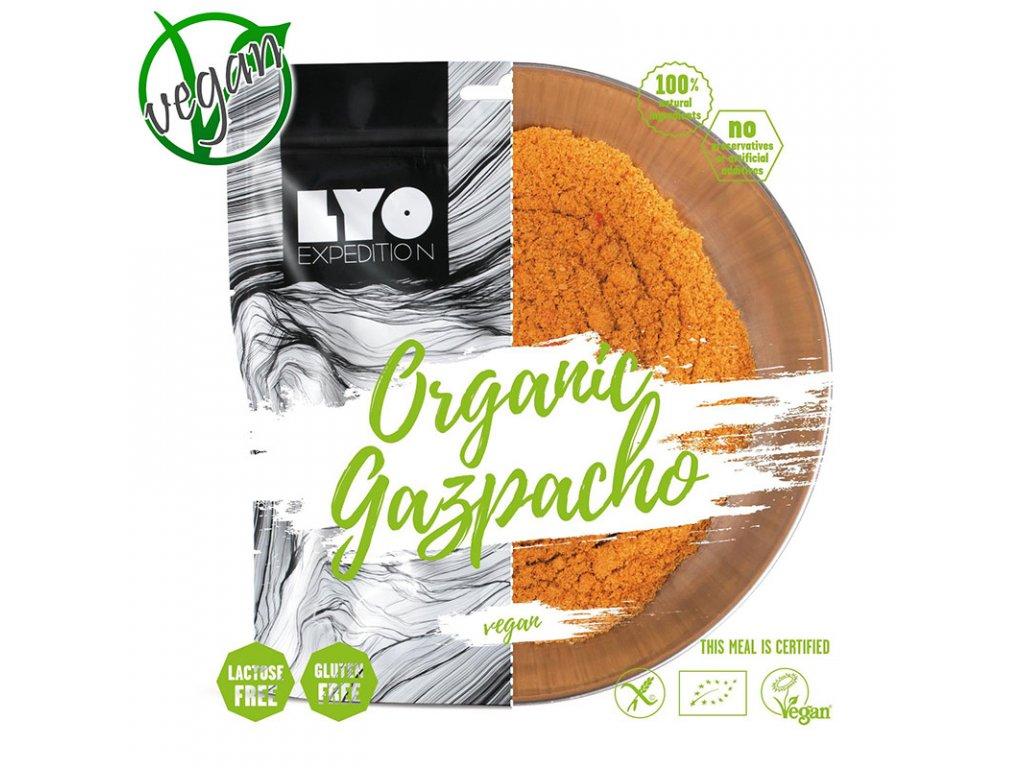 Lyo food polévka gazpacho 1