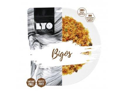 Lyo Food Bigos tradiční polské jídlo smasem a zelím 1