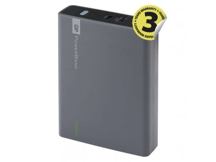 Power bank GP 1C10AA 10400mAh šedý 1