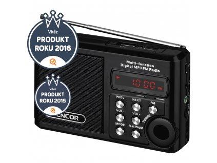 Přenosné radio SRD 215 B SENCOR