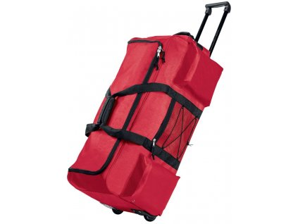 Cestovní taška červená 2