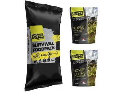 SURVIVAL FOOD PACK – MENU I