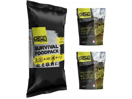 SURVIVAL FOOD PACK – MENU II