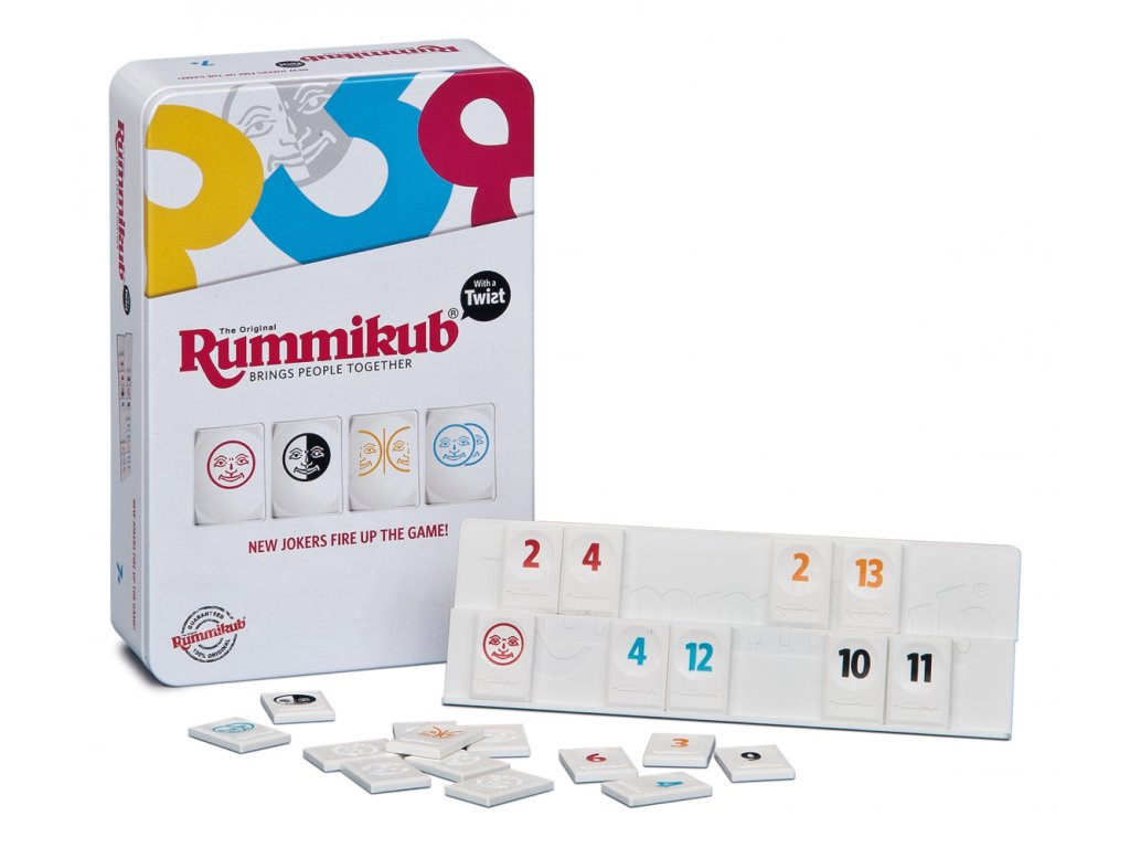 Rummikub Mini TWIST - plechovka