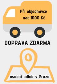 osobní odběr skleněných brček po Praze, Doprava zdarma