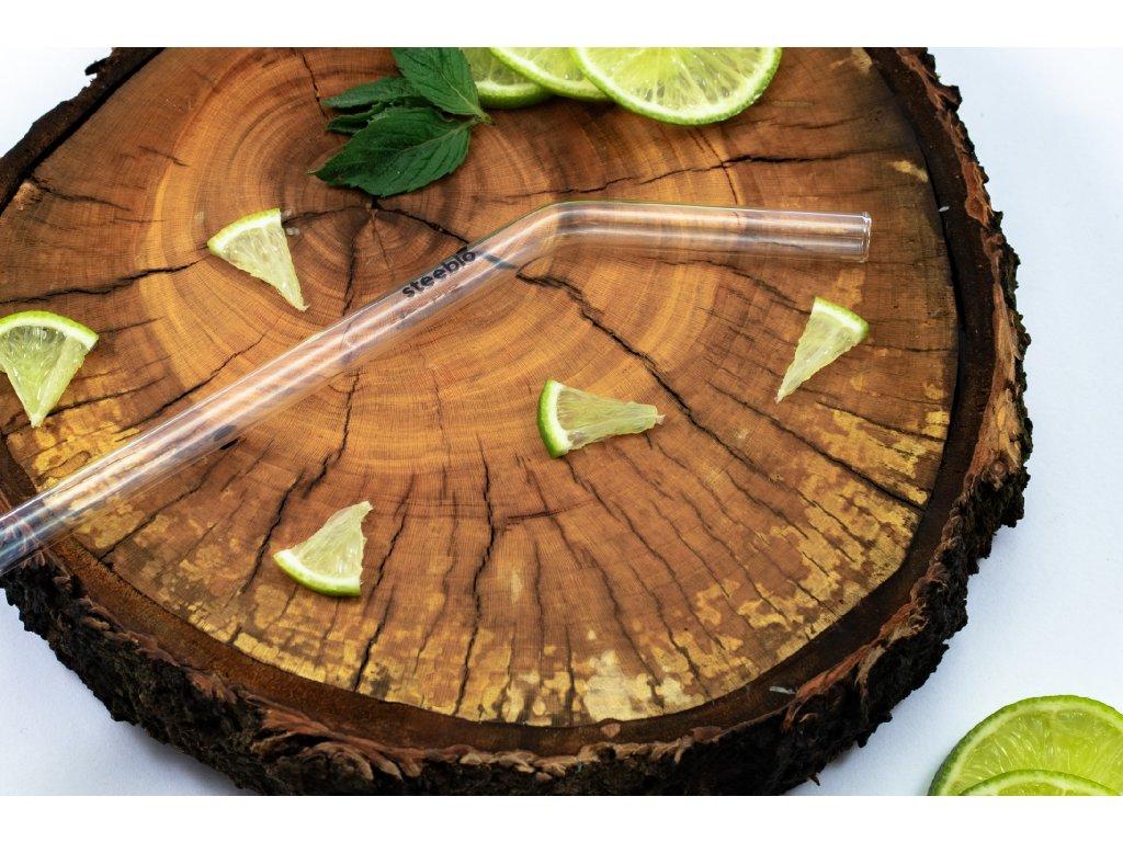 ekologické znovupožitelné recyklovatelné brčko