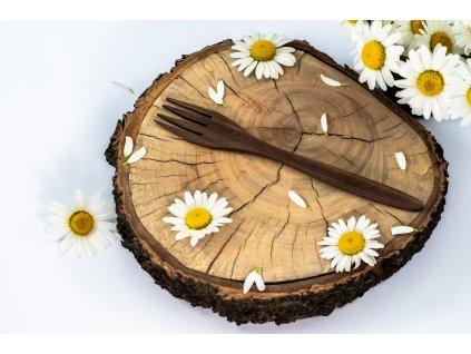 dřevěná vidlička