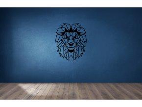 bluewall brownwoodfloor lionhead