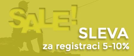 SLEVA za registraci